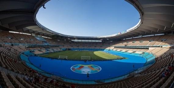 Sevilla Seville Spain Uefa Euro 2020 Football Sweden Estadio La Cartuja Stadium Soccer Sports Xinhua Macau Business